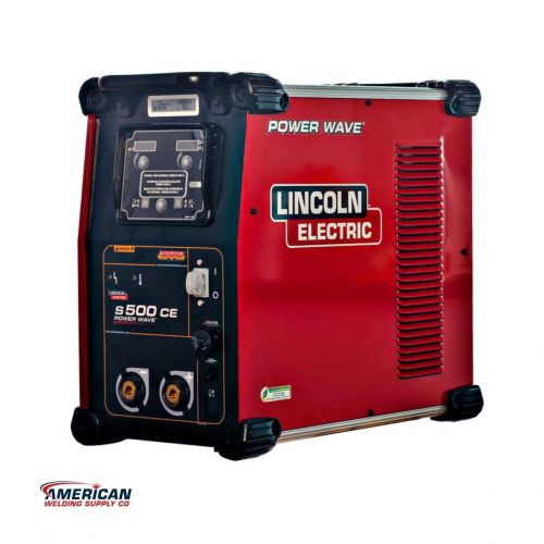 K3168-1 / POWER WAVE® S500 CE ADVANCED PROCESS WELDER (Not Available in US)