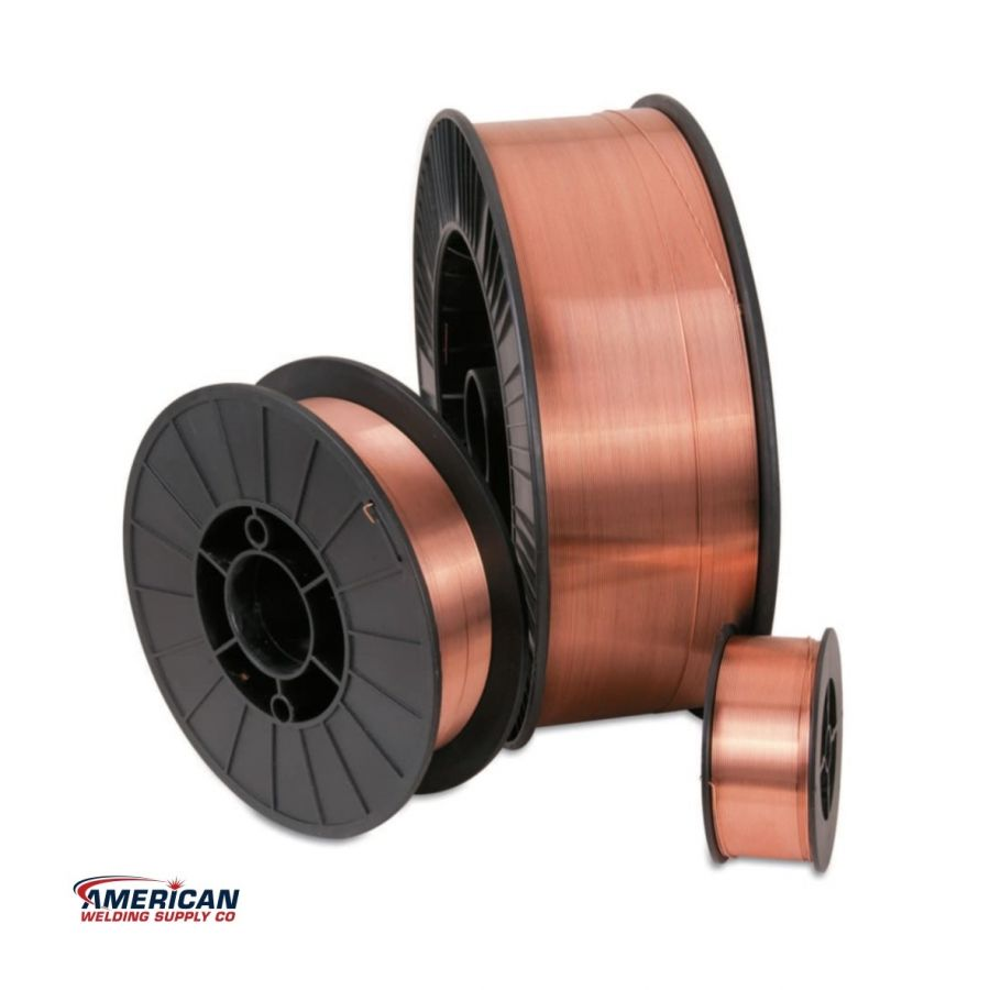 900-70S6030X33 / ER70S-6 Welding Wire, Carbon Steel, 0.030 in dia, 33 lb Spool  /  Best Welds