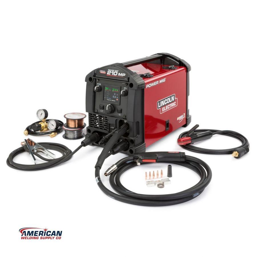 K3963-1 / POWER MIG® 210 MP Multi-Process Welder